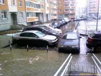 Дискретный обзор: Хамская парковка и езда по тротуарам как это повод