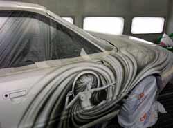 Индивидуальная покраска автомобиля