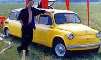 Автомобиль 'Запорожец'