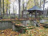 Александр Балтин: Цена идеала,  кладбища петербурга