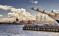 Александр Балтин: Цена идеала, краски истории, порт петербурга