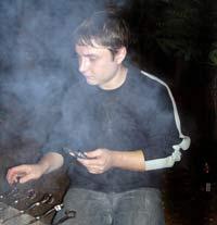 Рекламная компания Черное и белое -  Антон Толстобров летом 2007 года
