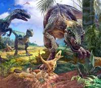Динозавры погибли зря