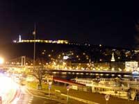 Будапешт. Цитадель ночью