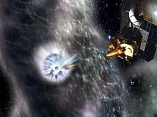 Успешно атакована комета Tempel-1