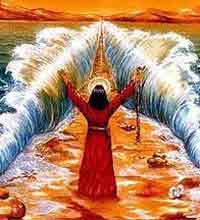 АРХЕОЛОГИ ПОДТВЕРЖДАЮТ И ПЛАТОНА, И БИБЛИЮ  - Согласно легенде именно так Моисей раздвинул морские воды