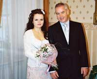 Наталья Страттон с мужем