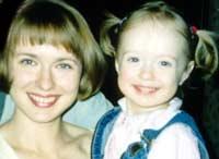 Катя и Лена САввиновы: Мама и дочка