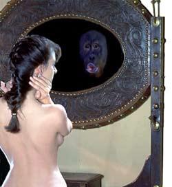 Старое зеркало притянуло её, как магнитом